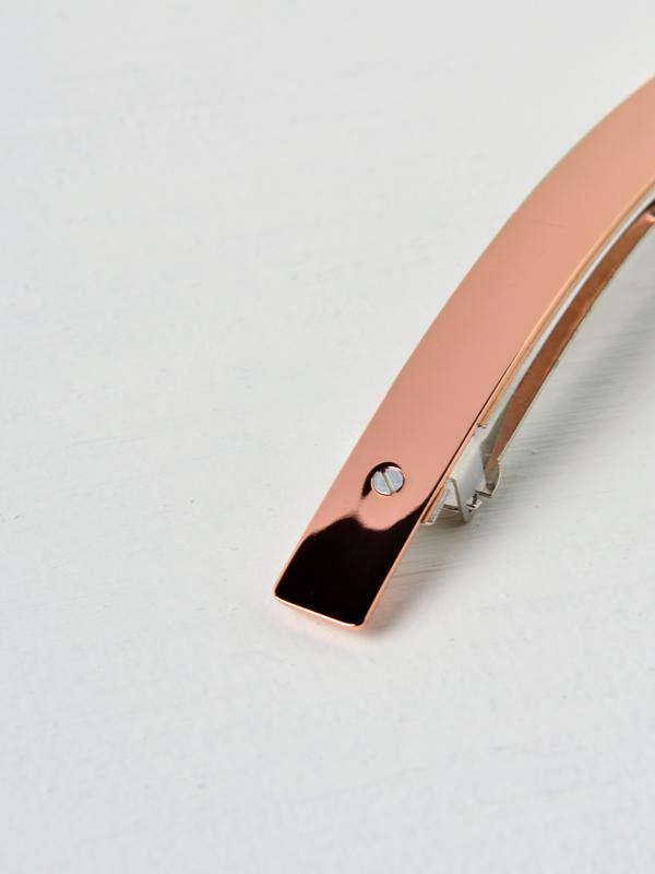 Sylvain le Hen Barrette - Rose / Pink Gold