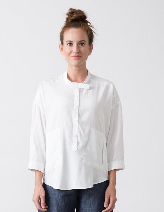 SBJ Austin Isabel Top in White