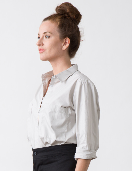 SBJ Austin Jane Top in Grey