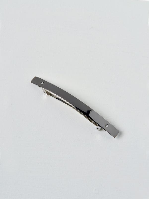Sylvain le Hen Barrette 021 XL - Argent Noir / Black Silver