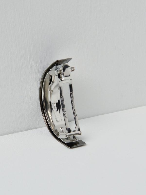 Sylvain le Hen Barrette 046 - Argent Noir / Black Silver