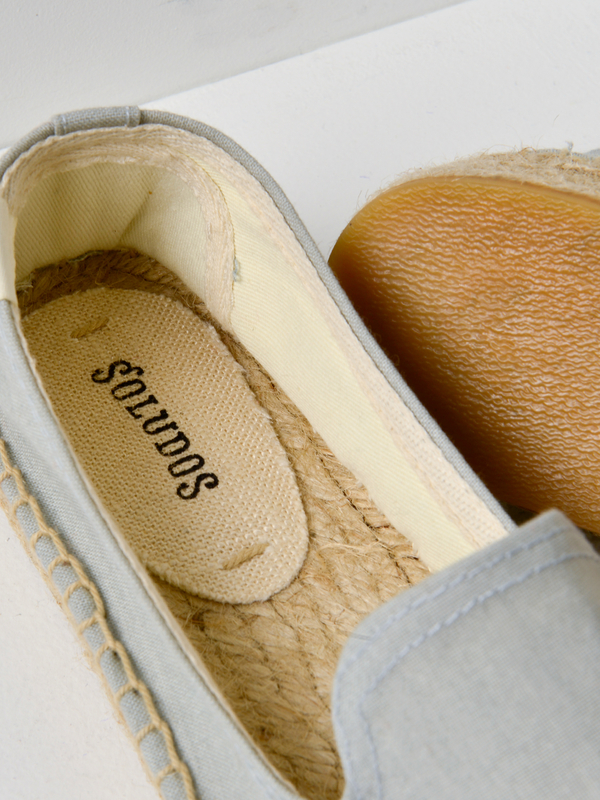Soludos MON AMOUR SMOKING SLIPPER - CHAMBRAY