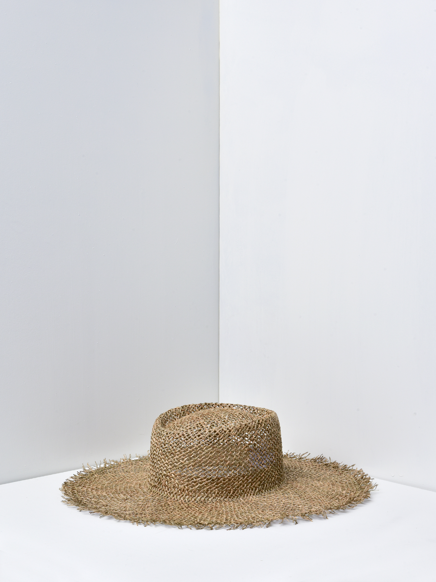 2ff2a0c31 Lack of Color SUNNYDIP FRAY BOATER HAT - SEACRASS