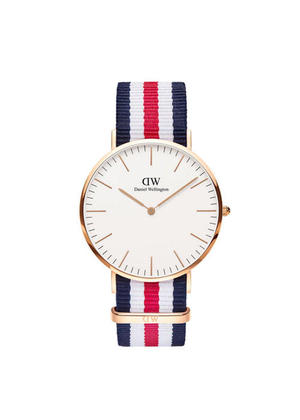 Daniel Wellington Classic Canterbury Nato Watch - ROSE GOLD