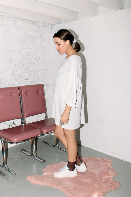 Bodega Thirteen CODY TUNIC WHITE