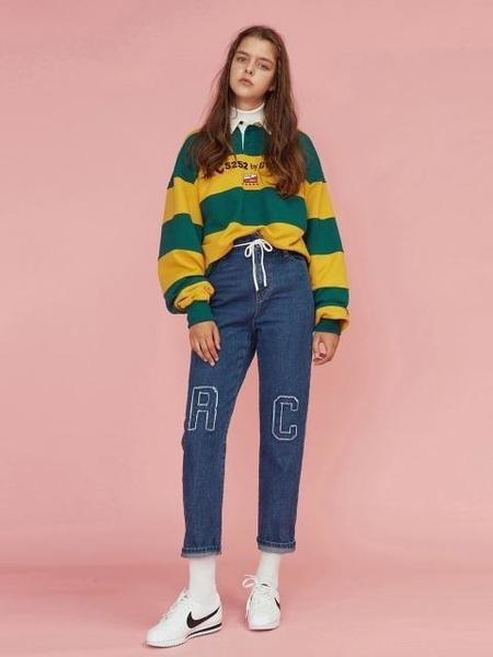 5252 BY O!OI PATCH POINT DENIM PANTS