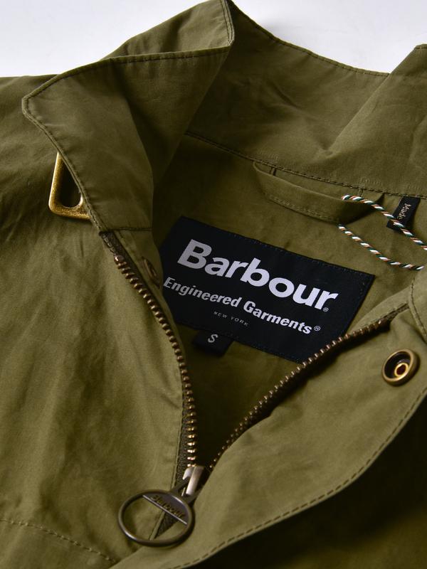 e0b7bcb5d1fdd ENGINEERED GARMENTS X BARBOUR Arthur Waistcoat Gilet - Olive ...