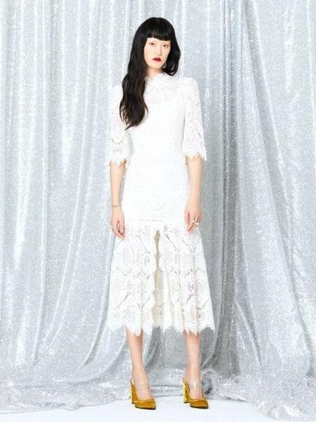 FAYEWOO Tres Chic Lace Dress