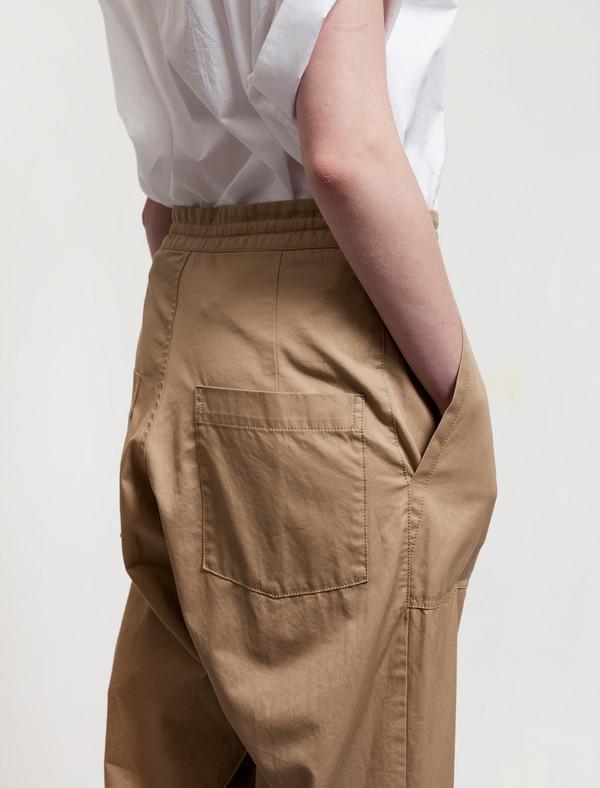 Ys by Yohji Yamamoto Patch Pocket Trousers Khaki