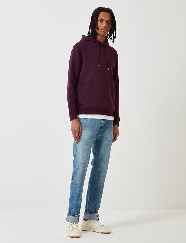 Norse Projects Vagn Classic Hooded Sweatshirt - Purple
