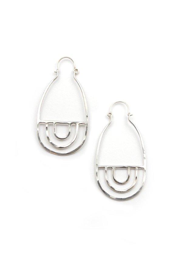 Tiro Tiro Arcos Earrings - Silver