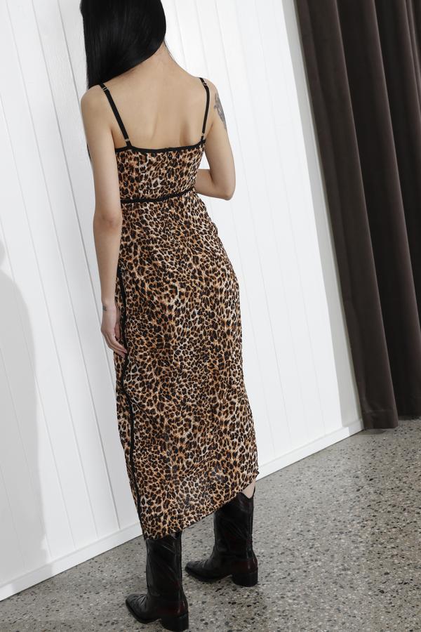 Nanushka Abir Dress - Ocelot