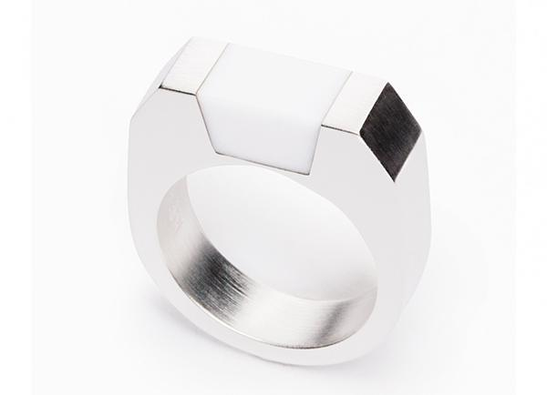 MING YU WANG SYD RING - silver