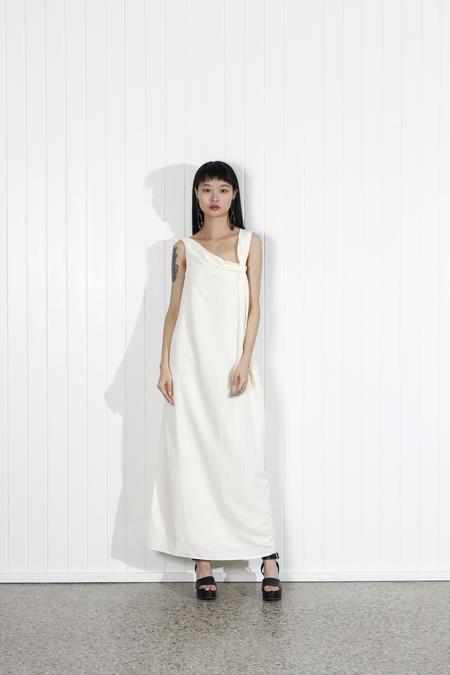 Shaina Mote Elia Dress - Crema