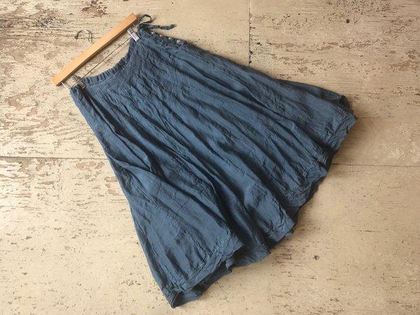dd05ffbd45 CP Shades Kavita mini-checked cotton silk Skirt - blue   Garmentory