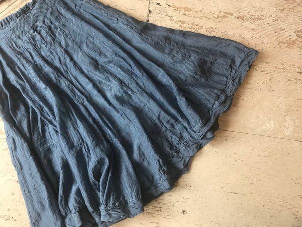 efd044dde0 CP Shades Kavita mini-checked cotton silk Skirt - blue. $314.00. CP SHADES