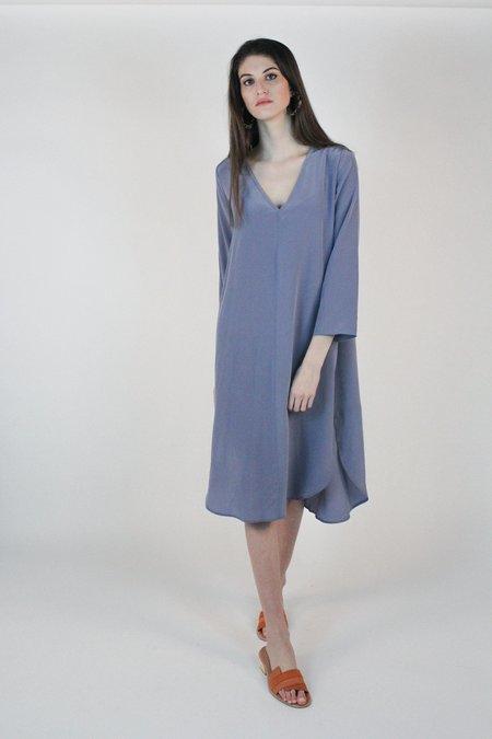 Winsome Carmen Dress - Powder Blue