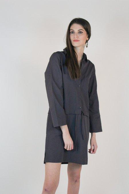Winsome Jeanie Transitional Dress - Blue/Gray