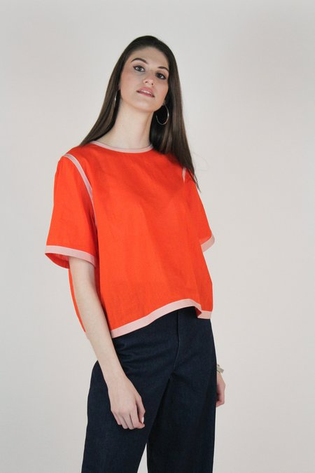 Winsome Maddalena Top - Orange
