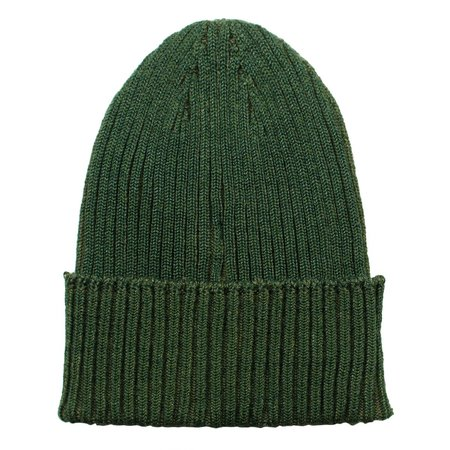 cableami Cotton Linen Beanie - Olive