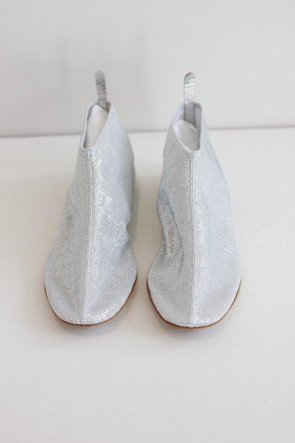 FORTE FORTE Lurex Bootie - Silver