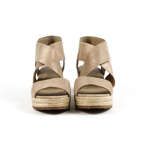 Eileen Fisher Willow Wedge - Light Gold
