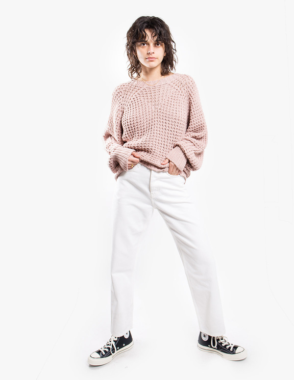 Sessun Coama Knit Pullover - Rose Tan