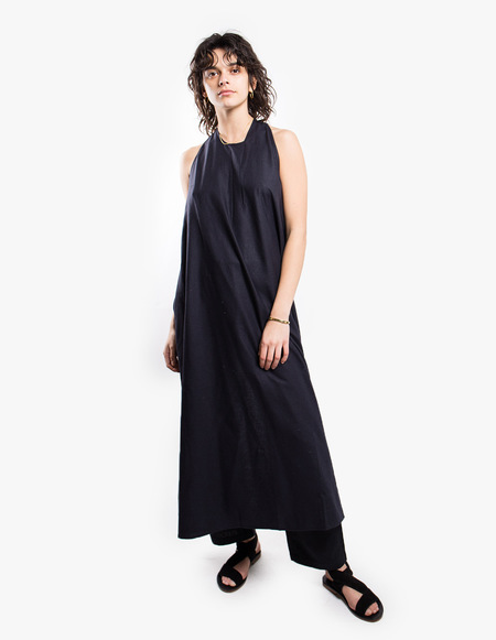 Baserange Apron Dress - black