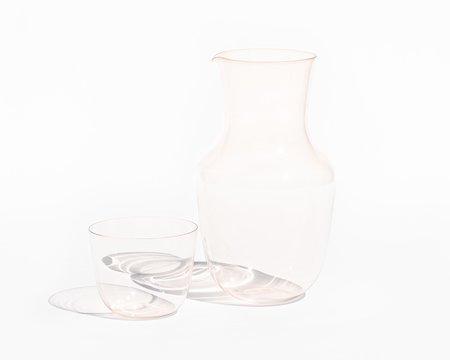 Lobmeyr 'Alpha' Water Carafe - Rosalin