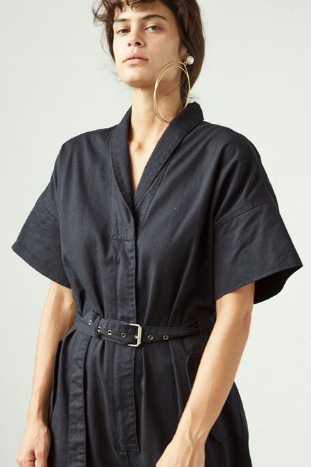Rachel Comey Pitch Chino Twill Jumpsuit - Black
