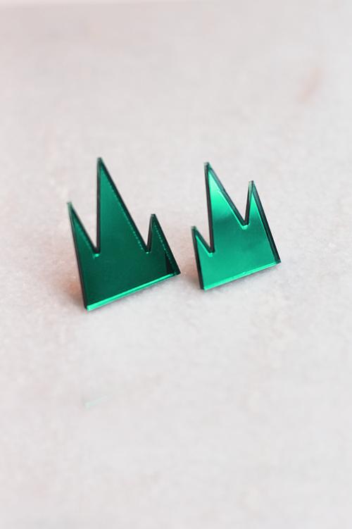 R/H STUDIO Mountain Earrings