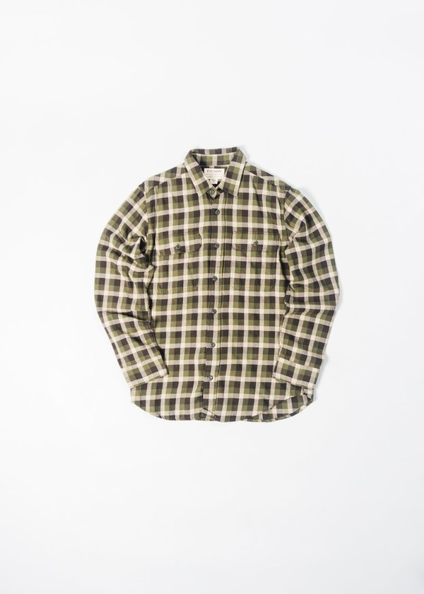 FILSON SCOUT SHIRT - OLIVE