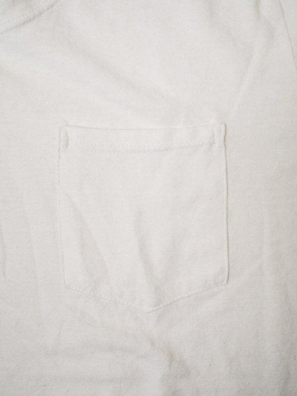 JUNGMAVEN JUNG POCKET TEE - WASHED WHITE