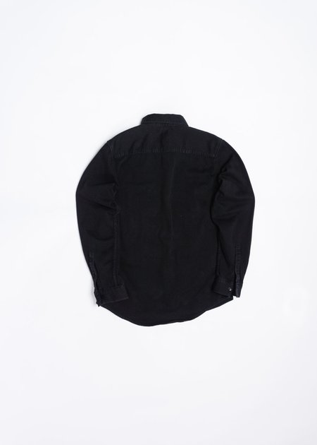 LEVIS MADE AND CRAFTED STANDARD SHIRT - WASHED BLACK