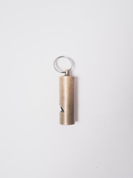 Tender Guards Whistle - Brass