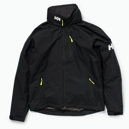 Unisex Helly Hansen Crew Hooded Mid layer Jacket - Black