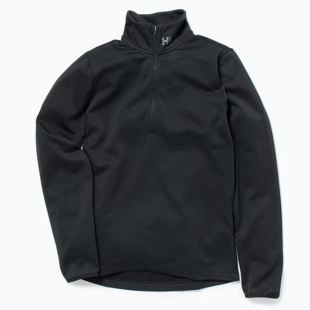 Unisex Helly Hansen Rapid 1/2 Zip Jacket - Black