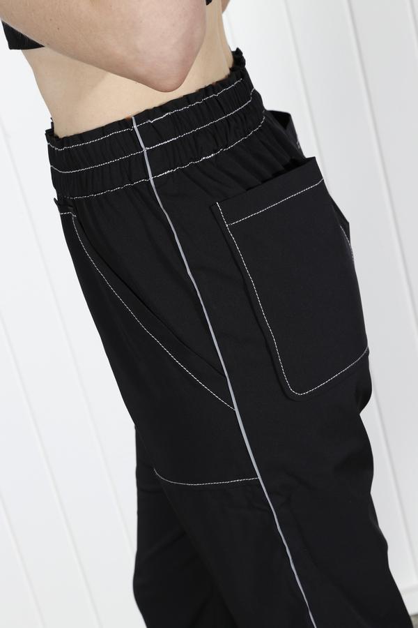 Ganni Cinnober Pant - Black