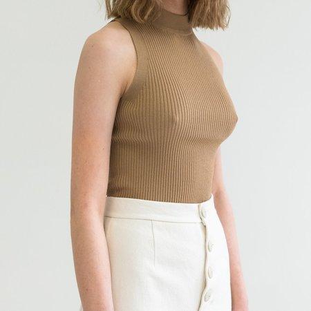 Pari Desai Nikita Sweater Tank - Tan