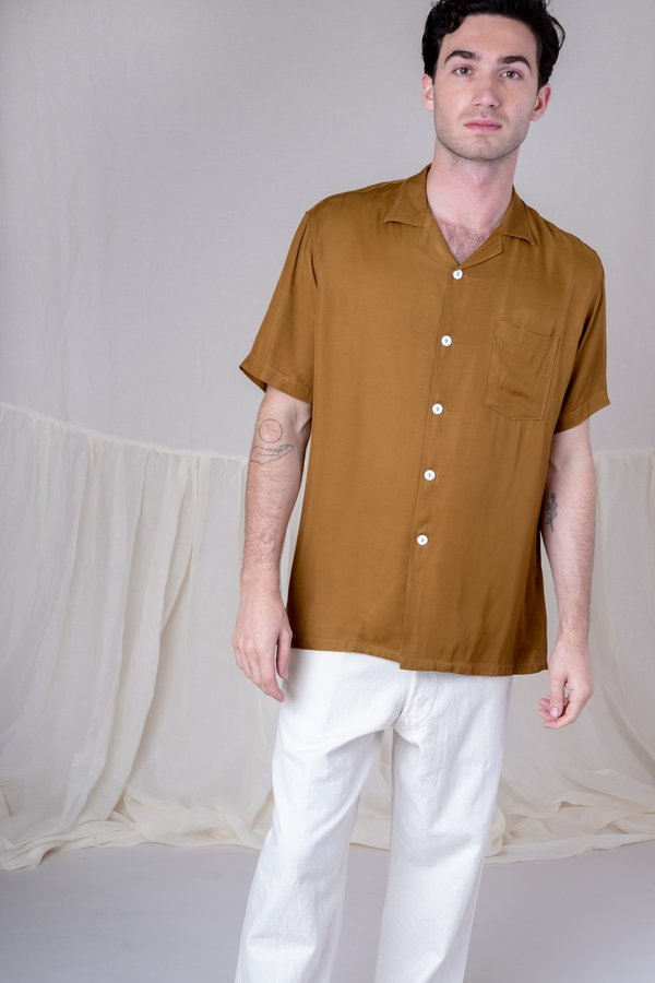 House of St. Clair CUBA SHIRT - OLIVE