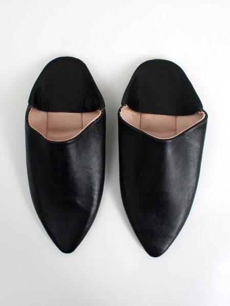 Bohemia Design Moroccan Babouche Slippers - Black