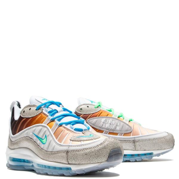 big sale ea2be 792ae Nike Air Max 98 La Mezcla Gabrielle Serrano Vast Grey   Electro Green. sold  out. Nike · Shoes