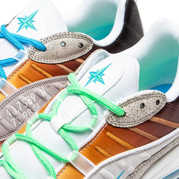 big sale 6e3b3 4e683 Nike Air Max 98 La Mezcla Gabrielle Serrano Vast Grey   Electro Green. sold  out. Nike · Shoes