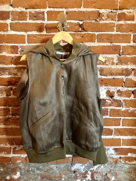 Eatable of Many Orders jacket - GREEN