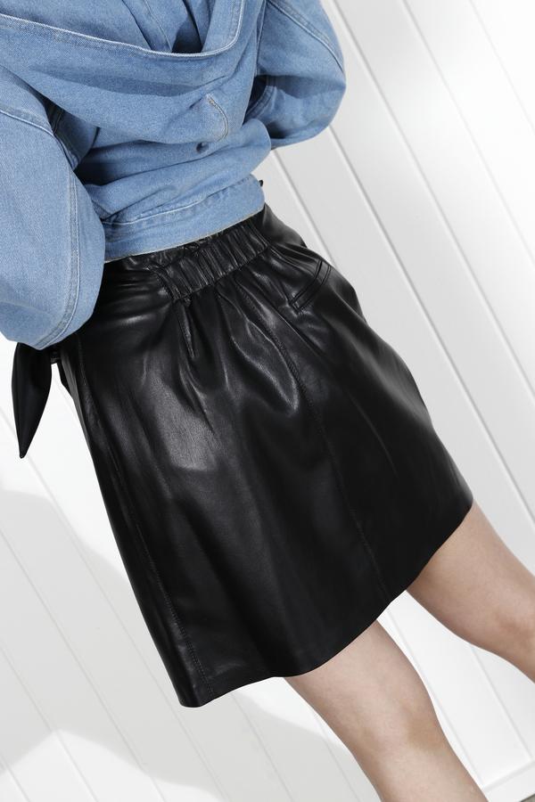 Nanushka Iowa Skirt - Black