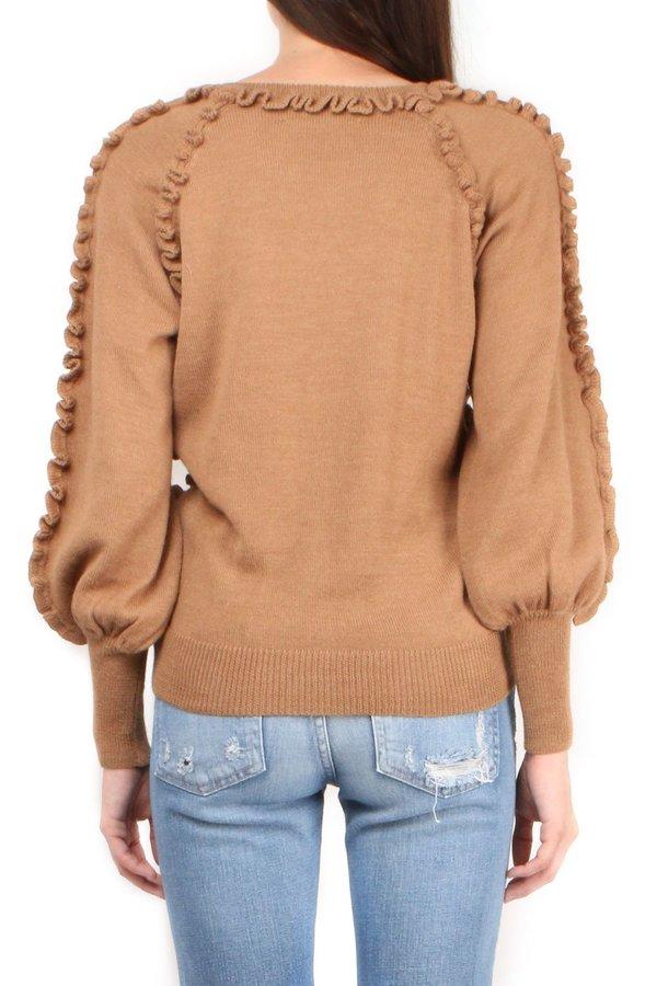 Apiece Apart Camari Knit Top - Onion Skin