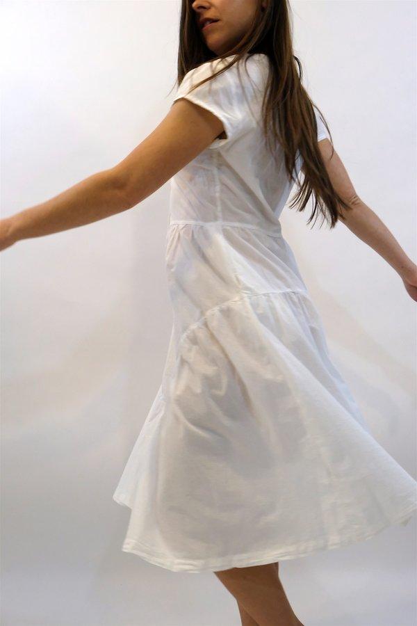 LACAUSA Virginia Dress - White