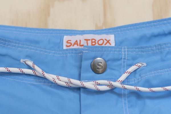 SALTBOX SWIMMING SHORTS - LIGHT BLUE
