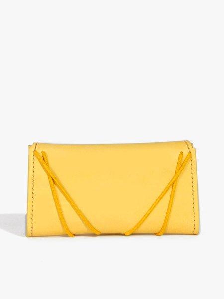 Eatable of Many Orders Eiffel Wallet - Yellow