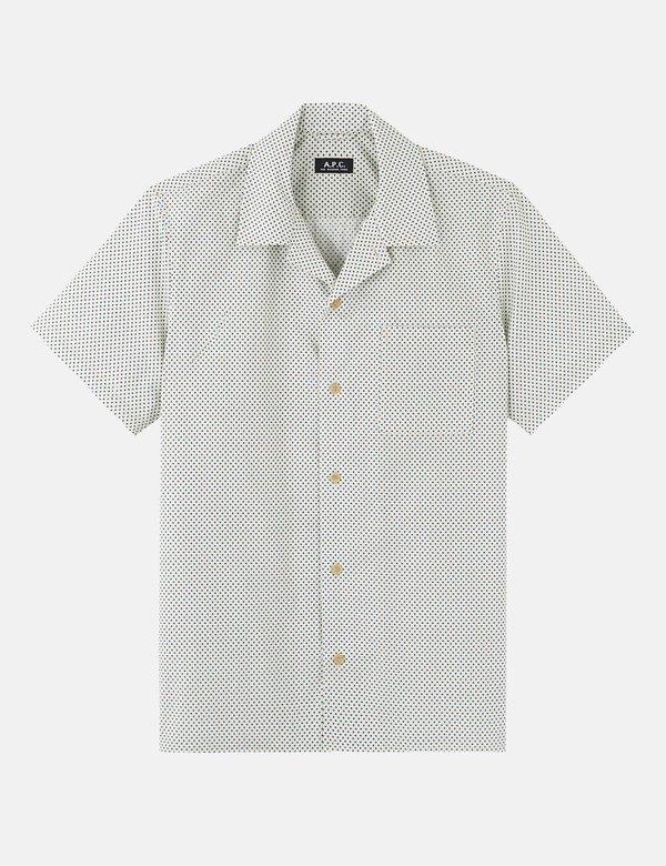 A.P.C. Michael Shirt - Egg Shell Beige